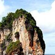 Ocean Wall- Phi Phi Island - Krabi Thailand- Viator's Agonism Art Print