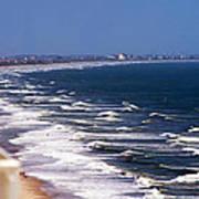 Oceanfront Landscape Art Print