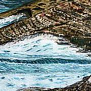 Ocean's View. Art Print