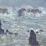 Oceans Waves Art Print