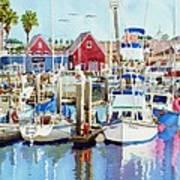 Oceanside California Art Print by Mary Helmreich