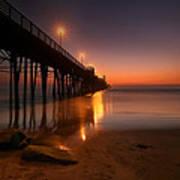 Oceanside Sunset 15 Art Print