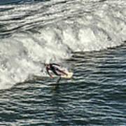 Oceanside Surfer 3 Art Print