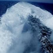 Oceon Waves Denmark Art Print