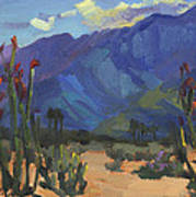 Ocotillos At Smoke Tree Ranch Art Print