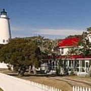Ocracoke Island Lighthouse Img 3529 Art Print