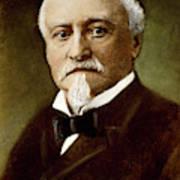 Octave Chanute (1832-1910) Art Print