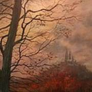 October At Holy Hill Art Print