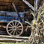 October Barn Art Print