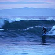 October Surf Art Print