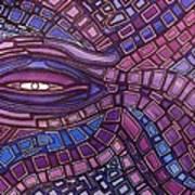 Octopus Eye Art Print
