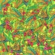 Odd Birds Of Paradise Art Print