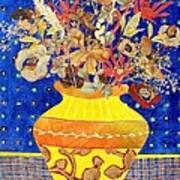 Ode To A Grecian Urn Art Print by Diane Fine
