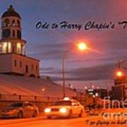 Ode To Harry Chapins Taxi Art Print