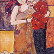 Ode To Klimt Art Print