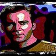 Ode To Star Trek Art Print by John Malone