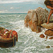Odysseus And Polyphemus Art Print