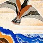Odyssey Illustration  Bird Of Potent Art Print