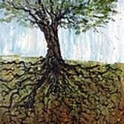 Of Light And Earth Art Print