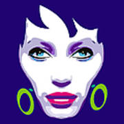 Ofelia Portrait Art Print