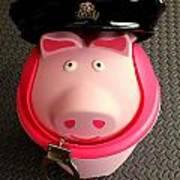 Officer Bacon Wants A Doughnut Art Print
