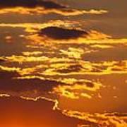 Ograzhden Mountain Sunset Art Print