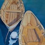 Oguniquit Boats Art Print