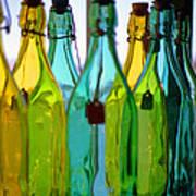 Ogunquit Bottles Art Print