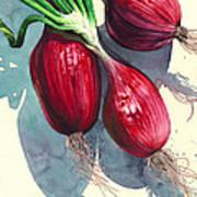 Oh I Like Onions Art Print
