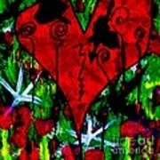 Oh My Pink Heart Art Print