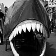 Oh The Shark Bites Art Print