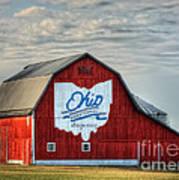 Ohio Bicentennial Barn -van Wert County Art Print