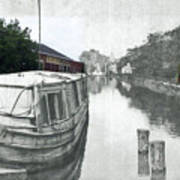 Ohio Erie Canal - Retouched Art Print