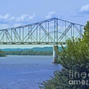 Ohio River Crossing Art Print