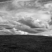 Ohio Spring Clouds 2013 Art Print
