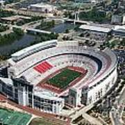 Ohio Stadium Aerial Art Print