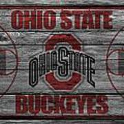 Ohio State Buckeyes Art Print by Joe Hamilton