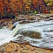 Ohiopyle Falls 2 Art Print