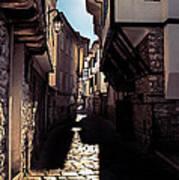 Ohrid Streets Art Print