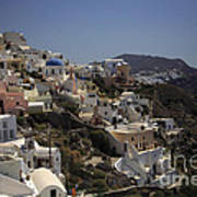 Oia By Day Art Print