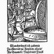 Oil Press, 1568 Art Print