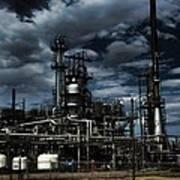Oil Refinery Sinclair Wyoming Art Print