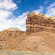 Ojitos De Los Gatos Panorama - New Mexico Art Print