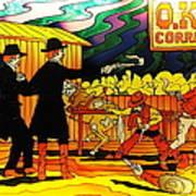 O.k. Corral Art Print