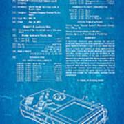 Okada Nintendo Gameboy Patent Art 1993 Blueprint Art Print