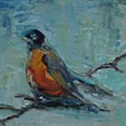 Oklahoma Robin Art Print