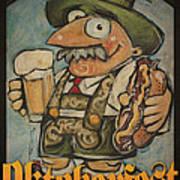 Oktoberfest Guy Poster Art Print