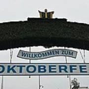 Oktomberfest In Bavaria Art Print