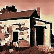 Old Abandoned House In Cape Breton Art Print by John Malone