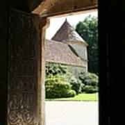 Old Abbey Church Door - Abbey Fontenay Art Print